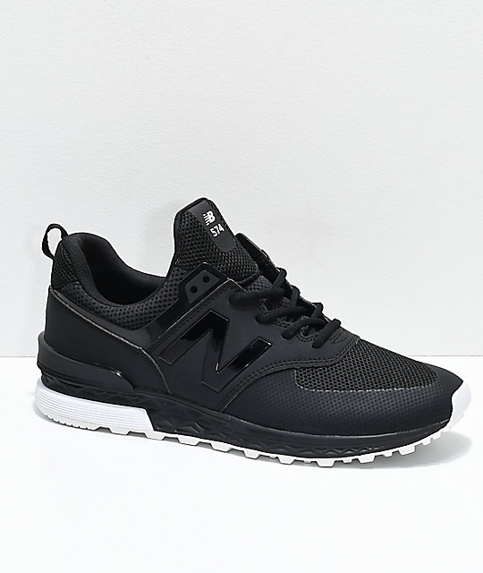 new balance black shoes